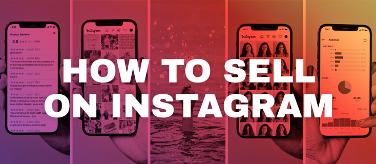 print on demand selling with instagram